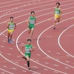 400m決勝 戸澤(左) 神谷(右)