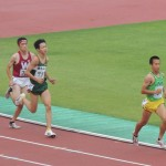 1500m決勝 戸村