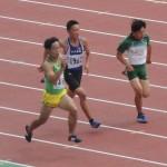 B100m予選 山本