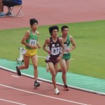 5000m決勝 松田