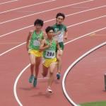 800mオープン 小林(前) 佐藤(後)