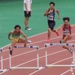400mH予選 中野