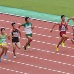 B100m準決勝 戸澤