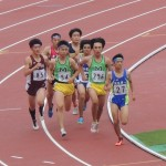 800m決勝 小池(左) 高見沢(右)