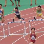 400mH決勝 吉野