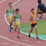 3000mオープン 中澤(前) 島田(後)