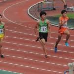 100m 金子(右) 櫻井(左)