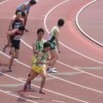 4×100mR予選 3走金子から4走伊藤にバトンパス