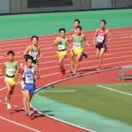 1500m決勝 小林(左) 髙橋(中) 中澤(右)