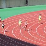 400m決勝 戸澤(中) 吉野(右) 神谷(左)