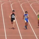 100mオープン 知久(左) 宮田(右)