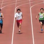 100mオープン 小山(148) 芳賀(150)