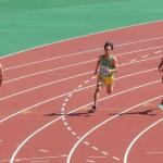 200m予選 神谷