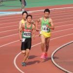 八種競技 1500m 岸