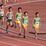 5000m決勝 右から今井・宇田川・川田