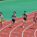 200m準決勝 神谷
