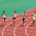 200m準決勝 戸澤