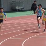 200m予選 相沢