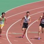 200m準決勝 伊藤