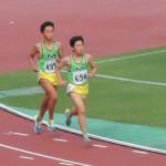 5000mオープン 益子(右) 小池(左)