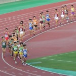5000m決勝 松田(右) 小林(左)