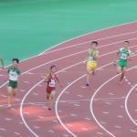 4×400mR決勝 1走 吉野