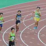 4×400mR予選 1走山田