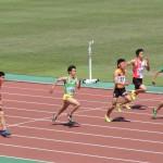 100m準決勝 相沢