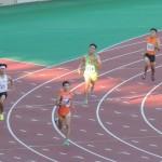 4×400mR決勝 1走山田