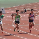100m 石田