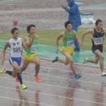 100m 金井(左) 阿佐美(右)
