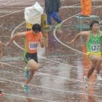 100m 柿沼