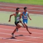 100m 竹村