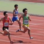 100m 田中