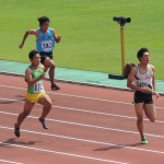 100m予選 福井