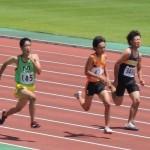 100mオープン 髙橋
