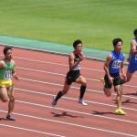 100m準決勝 福井