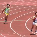 400m予選 馬場