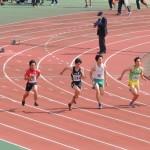 100m 神谷(右) 石田(左)