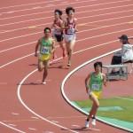 1500mオープン 橋本大嬉(左)
