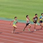 100m決勝 相沢