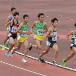 1500m決勝 野口(左) 田中(右)
