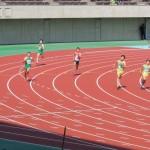 400m決勝 戸澤(右) 山田(中) 神谷(左)