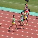 100m予選 戸澤
