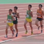 5000mオープン 戸塚(左) 小林(右)