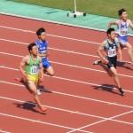 100m準決勝 金井