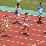 100m準決勝 戸澤