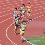 800m決勝 高見沢(前) 小池(後)