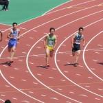 200m準決勝 金井