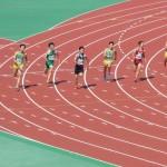 200m決勝 金井(右) 戸澤(中) 山田(左)